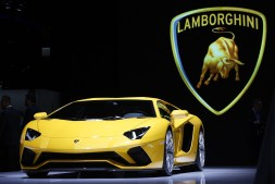 It's no surprise that Lamborghini is a brand that finds its way into popular music often. (Luke Macgregor/Bloomberg)