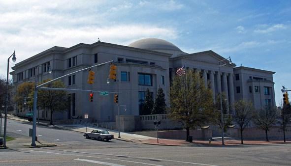 The Heflin-Torbert Judicial Building in Montgomery, 2012. (Chris Pruitt, Wikipedia)