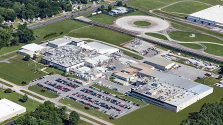 BASF last year completed an 18-month expansion to increase production at its catalytic converter plant in Huntsville. (BASF)