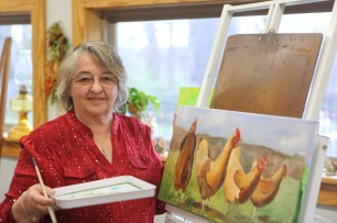 Four artists got together to display and sell their work at Rumbling Water Studios and Gallery in Wetumpka. (Meg McKinney)