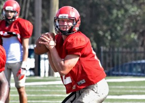 Huntingdon quarterback Chip Taylor could be the key to if the Hawks defend their conference championship this year. (Huntingdon Athletics)