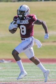 Receiver Octayvius Miles could be an offensive weapon for Alabama A&M this year. (Sidney Jackson / Alabama A&M Athletics)