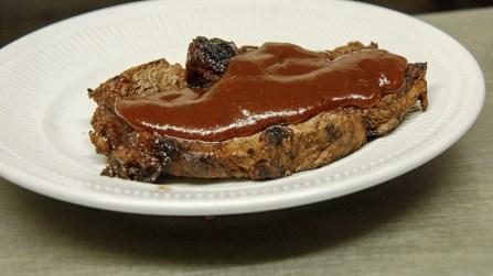 Dwayne Thompson's Big Daddy Bomb BBQ Sauce goes on anything, he said. (Bruce Nix / Alabama NewsCenter)