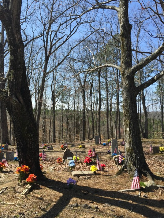 The Coon Dog Cemetery is the final resting place for more than 300 of man's best friends. (Anne Kristoff / Alabama NewsCenter)