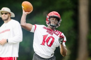 JSU quarterback Zion Webb could see playing time this year. (Matt Reynolds / JSU Athletics)
