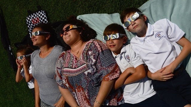 Birmingham takes notice of rare total solar eclipse
