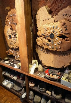 Part of Pappas's arrowhead collection. (Erin Harney/Alabama NewsCenter)