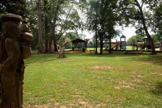 Orr Park remains one of Montevallo's favorite spots. (Brittany Faush-Johnson/Alabama NewsCenter)