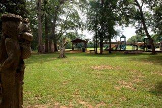 Orr Park remains one of Montevallo's favorite spots. (Brittany Faush-Johnson/Alabama NewsCenter)