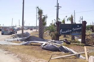 Damage from Hurricane Ivan on Dauphin Island. (File)