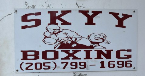 Skyy Gym in Northport remains Deontay Wilder's base for training to defend his WBC title. (Solomon Crenshaw Jr. / Alabama NewsCenter)