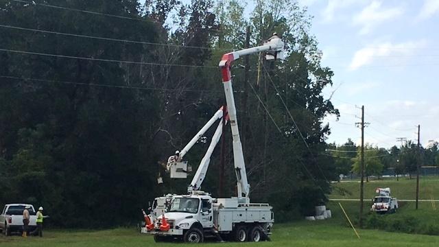 Alabama Power crews moving into Georgia to help with Irma restoration