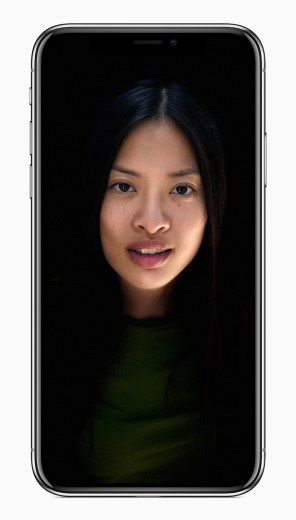 One of five lighting options for Apple's new iPhone X. (Apple Inc.)