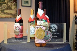 Bryant Vineyard has been a licensed winery making wine from muscadines for more than 30 years. (Michael Tomberlin / Alabama NewsCenter)