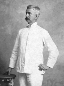 William Crawford Gorgas (1854-1920) was a physician in the U.S. Army Medical Corps. He fought yellow fever in Panama, contributing to the building of the Panama Canal, was elected president of the American Medical Association, and served as U.S. Army Surgeon General. (From Encyclopedia of Alabama, Courtesy of the University of Alabama W.S. Hoole Special Collections Library)