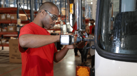 Indiana-based Autocar is investing $120 million to open an Alabama heavy truck assembly operation with 746 jobs. (Autocar)