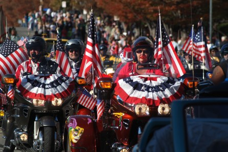 Birmingham Veterans Day Parade, 2007. (AlabamaNewsCenter)