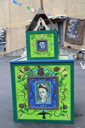 Famed Mexican artist Frida Kahlo is honored. (Donna Cope/Alabama NewsCenter)