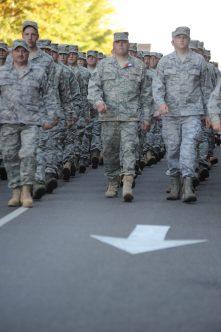 Birmingham Veterans Day Parade, 2010. (AlabamaNewsCenter)