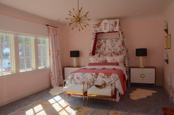 One of five bedrooms in the 2017 Inspiration Home. (Karim Shamsi-Basha / Alabama NewsCenter)