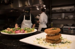 Owner Becky Satterfield and Executive Chef Tripp Mauldin are picky about where they get the food for their ever-evolving menu.(Brittany Faush / Alabama NewsCenter)