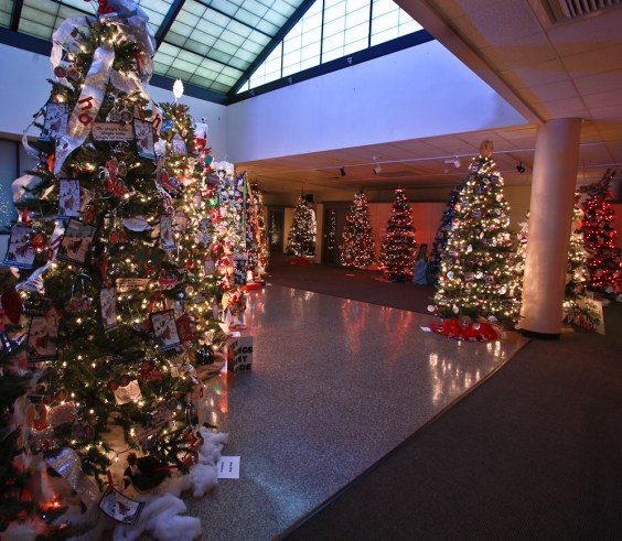 """The Hardin Center presents """"Let it Snow"""" and """"Festival of Trees"""" through Sunday, Dec. 31. (Contributed)"""