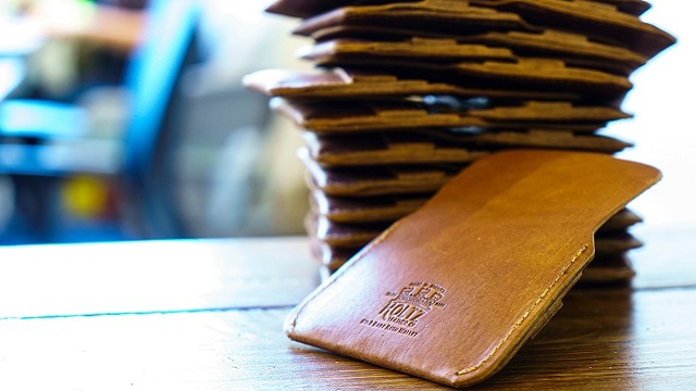 Holtz Leather is an Alabama Maker with a sturdy stitch