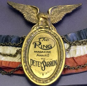 Petey Sarron exhibition at the Alabama Sports Hall of Fame. (AlabamaNewsCenter, Alabama Sports Hall of Fame)