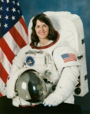 Kathryn C. Thornton (Ph.D.), NASA Astronaut (missions STS-33, STS-49, STS-61, STS-73). (NASA, Wikipedia)