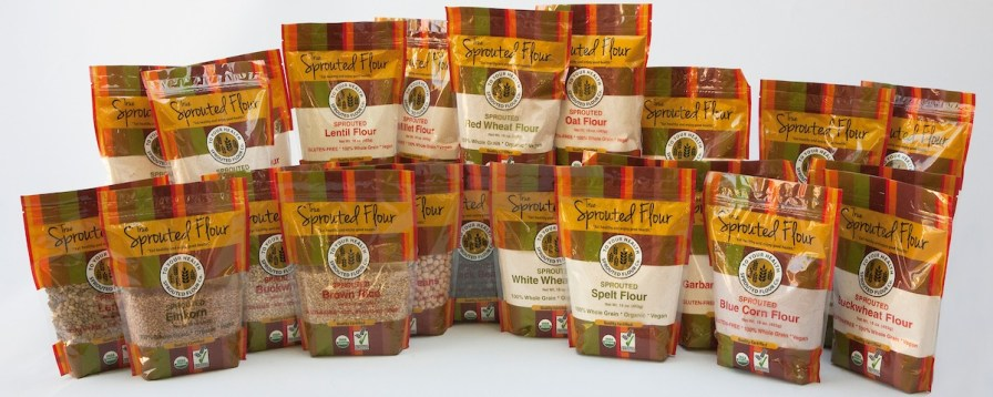 To Your Health Sprouted Flour Company produces almost 30 organic grain products. (Mark Sandlin / Alabama NewsCenter)