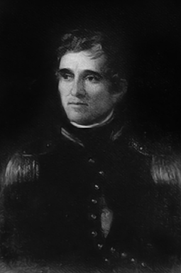 John Floyd (1769-1839) was a military leader in what is now Alabama during the War of 1812, including the battles of Autossee and Calabee Creek during the Creek War of 1813-14. Following the war, Floyd served in Georgia's state legislature and represented the state in the U.S. Congress. (From Encyclopedia of Alabama, courtesy of Hargrett Rare Book and Manuscript Library, University of Georgia Libraries)