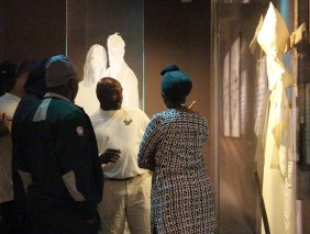 Coaches and players from Texas Tech and South Florida toured the Birmingham Civil Rights Institute as part of their time in the Magic City for the Birmingham Bowl. (Birmingham Bowl)