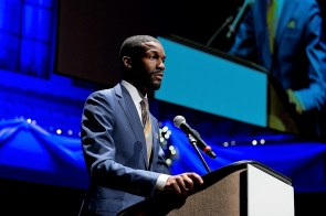 "Birmingham Mayor Randall Woodfin said ""Birmingham is in full support of the auto industry."" (BBA)"