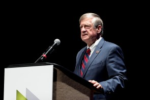"""Jefferson County Commission President Jimmie Stephens said the business leaders at the BBA Chairman's Meeting """"are the economic engine in the metro area."""""""