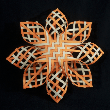 A basketweave ornament by Betty Bain of Black Belt Treasures. (Contributed)
