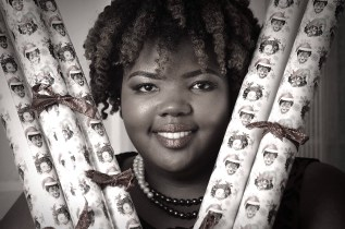 Kristin Farmer didn't hesitate once a friend suggested she create wrapping paper featuring African American women. After a month-long fundraising campaign, she was ready to roll. (Contributed)