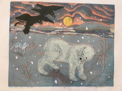A print by Jane Marshall of PaperWorkers Local. (Contributed)