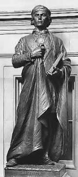 Statue of Sequoyah at the National Statuary Hall Collection, Washington, D.C. (The Architect of the Capitol, Wikipedia)
