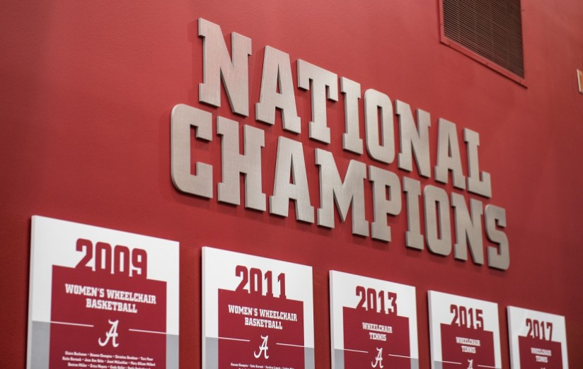 The arena is new, but the program it houses is an established success. (Zach Riggins / UA Strategic Communications)