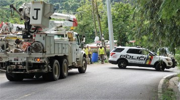 Crews from Alabama Power and other Southern Company sister companies are in Puerto Rico to restore power lost when Hurricane Maria struck the island four months ago. (Southern Company)