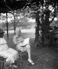 Ruby Pickens Tartt at her home in Livingston, Oct. 1940. (From Encyclopedia of Alabama, photograph by Ruby (Terrill) Lomax, courtesy of the Library of Congress)