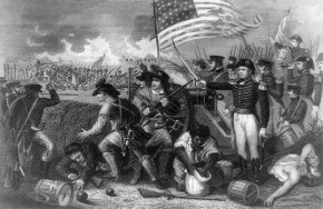 The Battle of New Orleans. (Engraved by Henry Bryan Hall, Library of Congress Prints and Photographs Division)