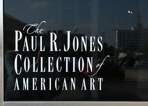 The late art collector Paul R. Jones donated his large collection to the University of Alabama in 2008. (University of Alabama Department of Art and Art History)