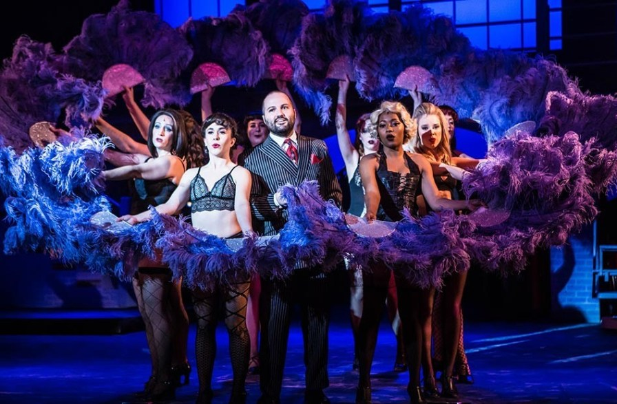 """The Broadway musical """"Chicago"""" is underway through Sunday, Feb.11 at the Virginia Samford Theatre. (Steven Ross)"""