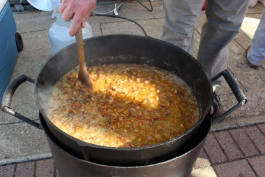 Enjoy a steaming pot of chili at Gadsden's Chili Cook-off Saturday, Feb. 3 on Broad Street. (Mary Wood)