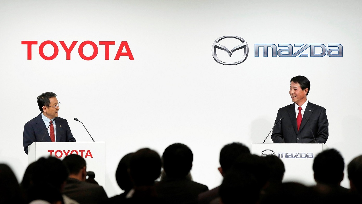 Toyota-Mazda selects Alabama for $1.6 billion auto plant with 4,000 jobs