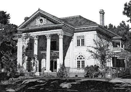 Holman House. (Courtesy of Melissa B. Tubbs)