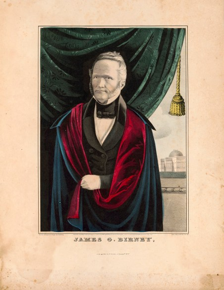 James G. Birney. (Published by N. Currier, Library of Congress Prints and Photographs Division)