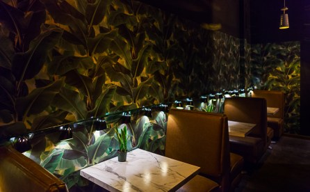 Decor inside The Atomic Lounge. (Photos courtesy of The Atomic Lounge)