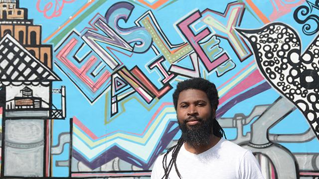 Brian Porter Hawkins is an Alabama Bright Light triggering a renaissance through Ensley Alive